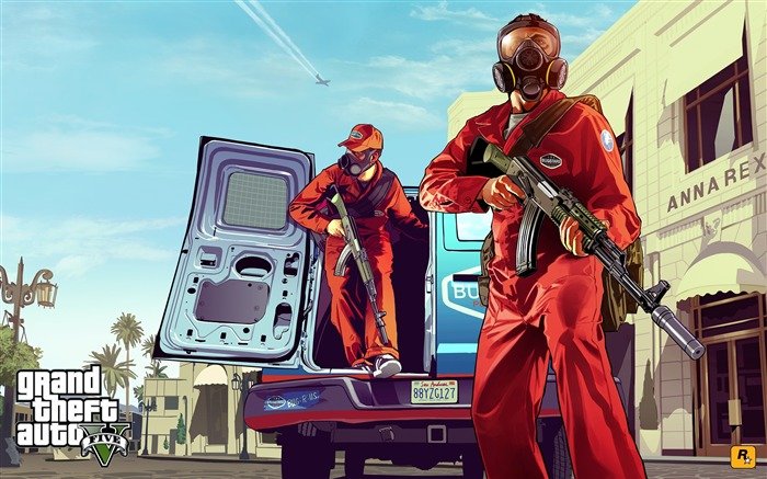 pestcontrol-Grand Theft Auto V GTA 5 Game HD Wallpaper Views:7678