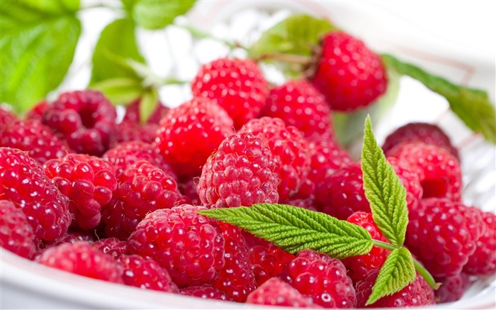 raspberry berry delicious-Food HD Wallpaper Views:4431