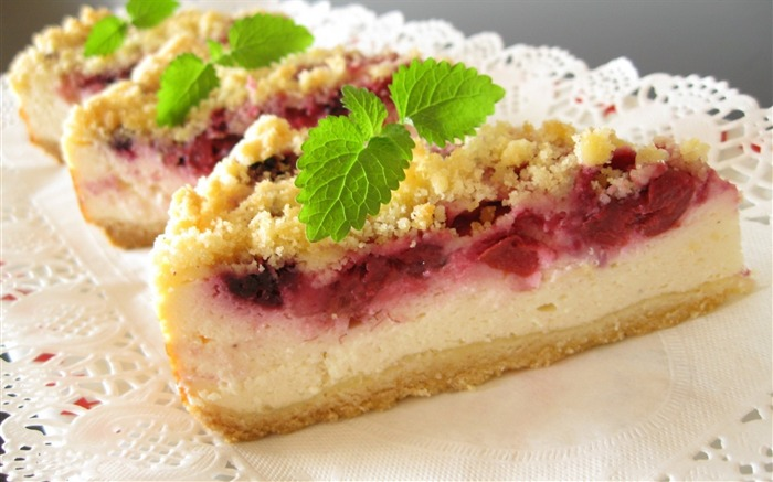 sweet pastry cake delicious-Food HD Wallpaper Views:7161