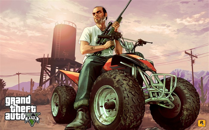 trevor atv-Grand Theft Auto V GTA 5 Game HD Wallpaper Views:3984