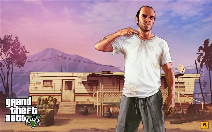 trevor cutthroat-Grand Theft Auto V GTA 5 Game HD Wallpaper Views:10999