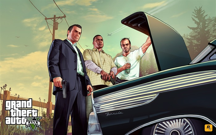 trunk-Grand Theft Auto V GTA 5 Game HD Wallpaper Views:4939