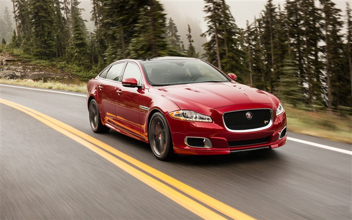 2014 Jaguar XJR Long Wheelbase Car HD Wallpaper Views:12336