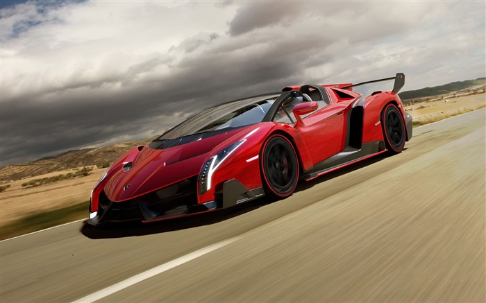 2014 Lamborghini Veneno Roadster HD Wallpaper Views:7909