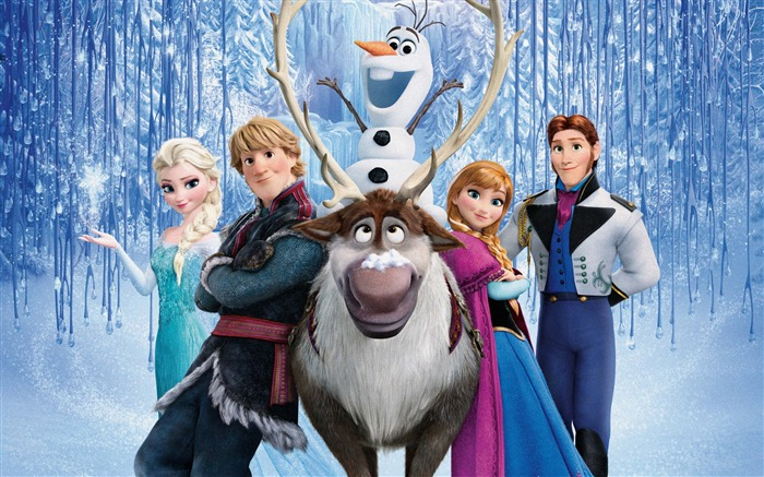 FROZEN 2013 Movie HD Wallpaper Views:8804