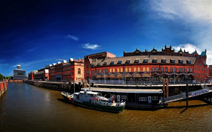 Germany Hamburg City Scenery Wallpaper Views:7468