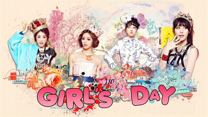 Girls Day Korean beauty portfolio wallpaper 05 Views:6817