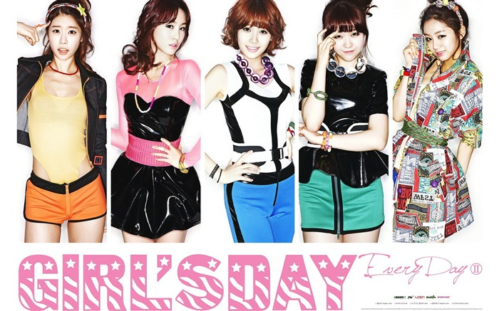 Girls Day Korean beauty portfolio wallpaper 07 Views:6736