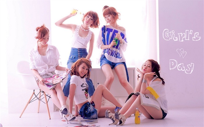 Girls Day Korean beauty portfolio wallpaper 13 Views:4938