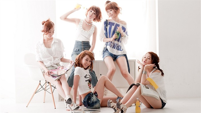 Girls Day Korean beauty portfolio wallpaper 20 Views:1854