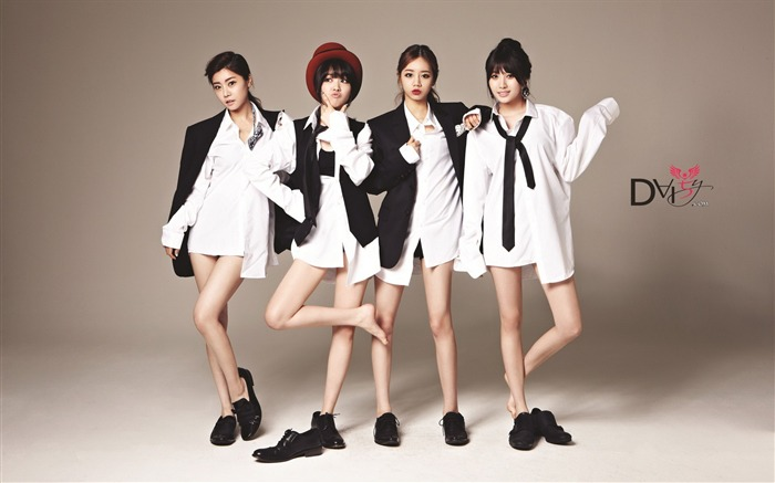 Girls Day Korean beauty portfolio wallpaper 22 Views:2236