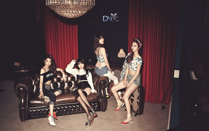 Girls Day Korean beauty portfolio wallpaper 25 Views:2139