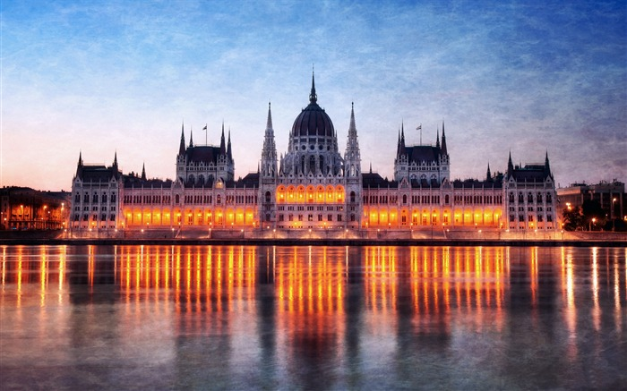 Hungary Budapest city architectural photo HD wallpaper 03 Views:3495