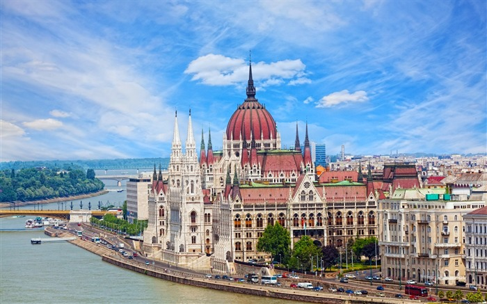 Hungary Budapest city architectural photo HD wallpaper 07 Views:4561