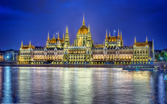 Hungary Budapest city architectural photo HD wallpaper 17 Views:1306