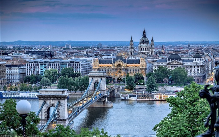 Hungary Budapest city architectural photo HD wallpaper 21 Views:1722
