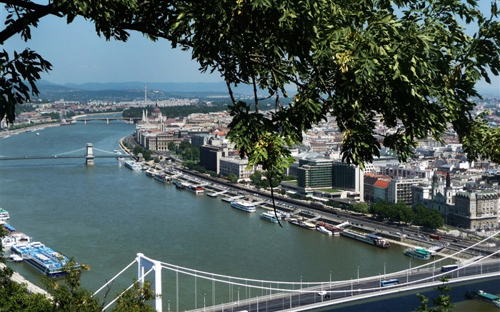 Hungary Budapest city architectural photo HD wallpaper 24 Views:1495