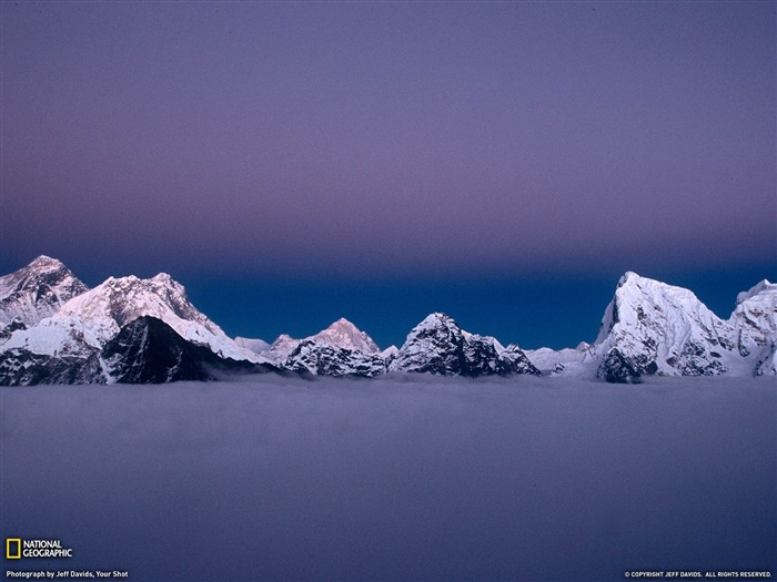 Mount Everest at Dusk-National Geographic Wallpaper Views:2887