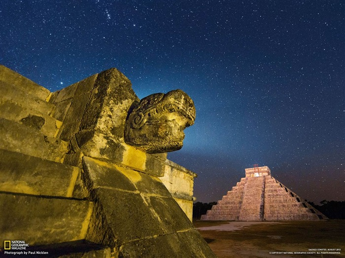 Pyramid Chichen Itza-National Geographic Wallpaper Views:3465