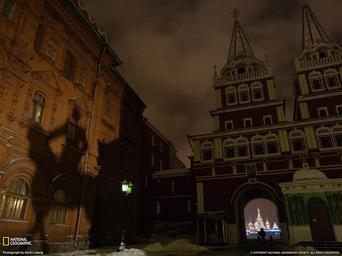 Red Square Moscow-National Geographic Wallpaper Views:3075