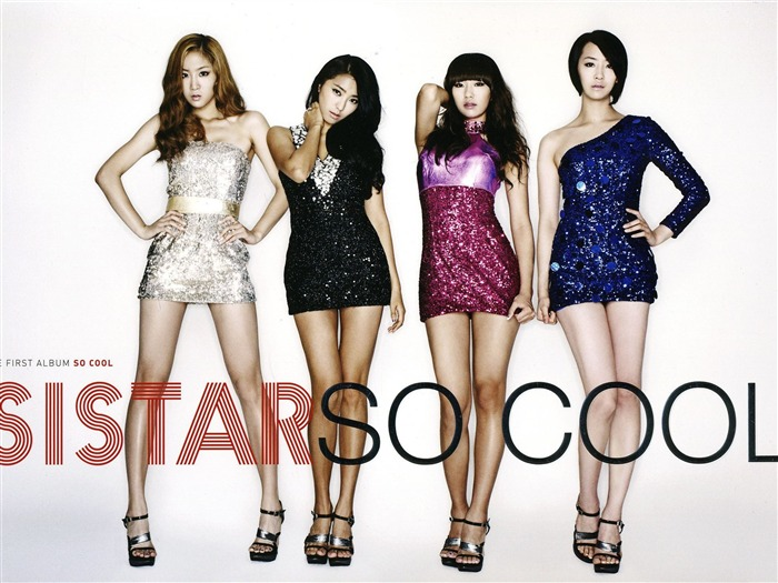 Sistar Korean girls singer photo wallpaper Views:13350