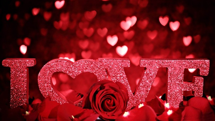 i love u-Romantic HD Wallpaper Views:13147