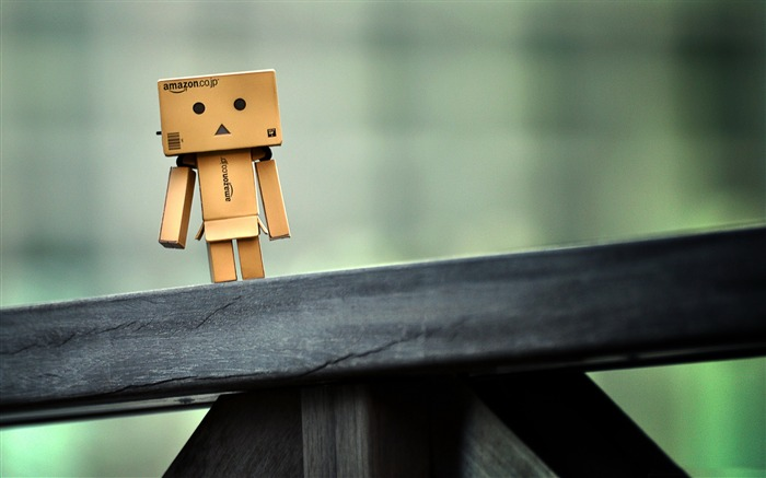 lonely life-Danbo Photography Wallpaper