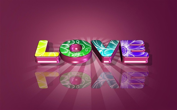 love sign bright-Romantic HD Wallpaper Views:3699