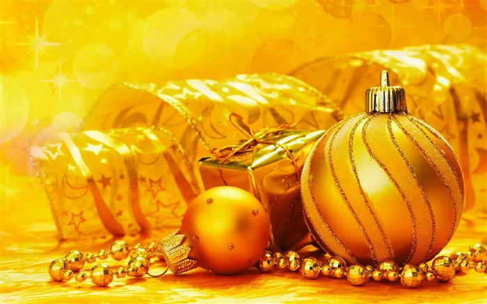 Beautiful Christmas decorative items desktop wallpaper Views:11121