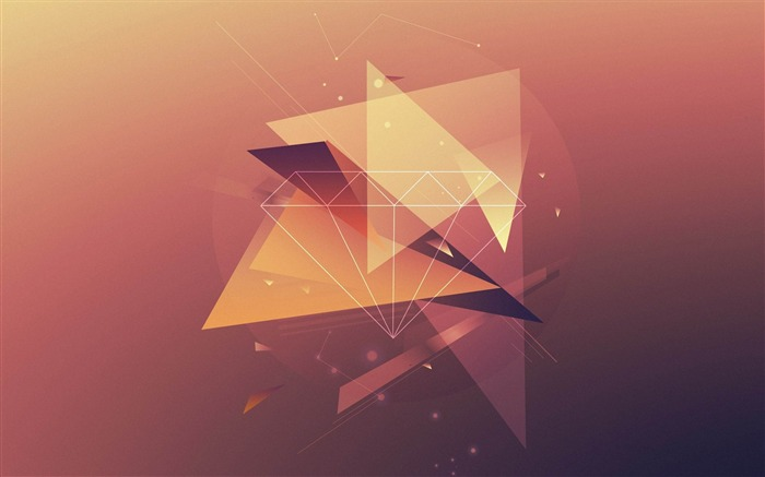 triangles lines fade-design wallpaper Views:2083