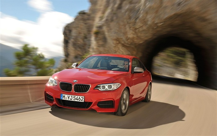 2014 BMW M235i Coupe Car HD Wallpaper Views:6636