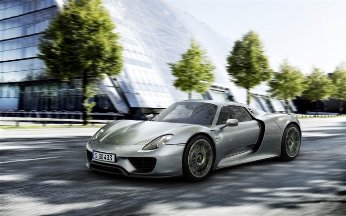 2014 Porsche 918 Spyder Car HD Wallpaper Views:15332