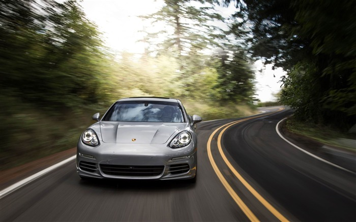 2014 Porsche Panamera 4S Car HD Wallpaper Views:6485