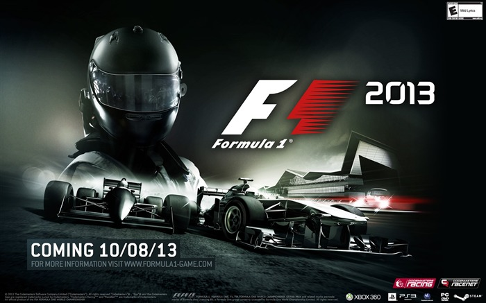 Formula 1 F1 2013 Game HD Wallpaper Views:7717