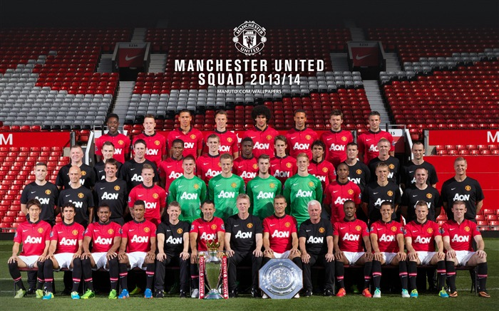 Manchester United 2013-2014 season HD Wallpaper Views:12890