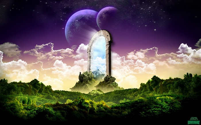 Dreamy Fantasy Art Design HD Wallpaper Views:9363