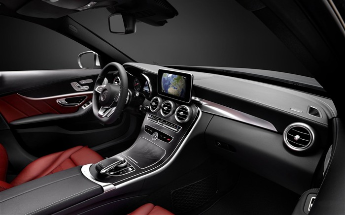 2015 Mercedes-Benz C-Class Car HD Wallpaper 08 Views:2954