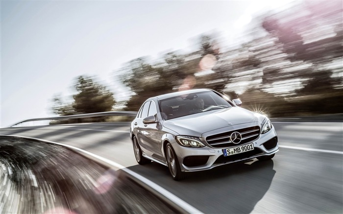 2015 Mercedes-Benz C-Class Car HD Wallpaper Views:7521