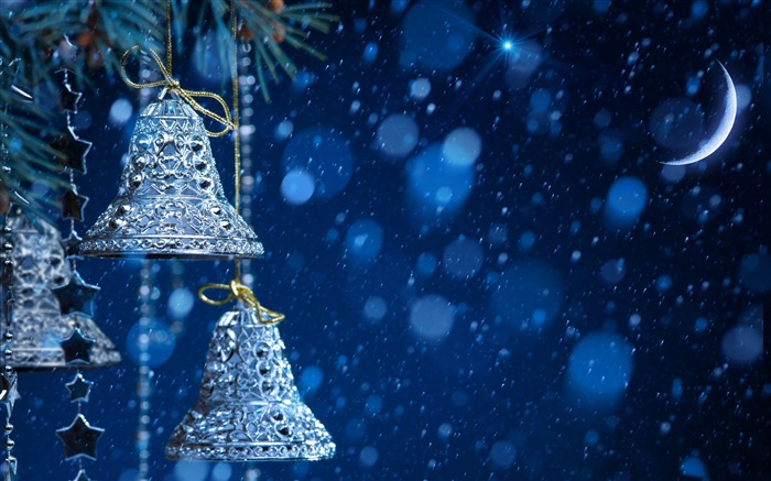 Christmas bells-Festival theme wallpaper Views:3902