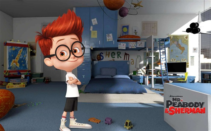 Mr Peabody And Sherman 2014 Movie HD Wallpaper 07 Views:3341