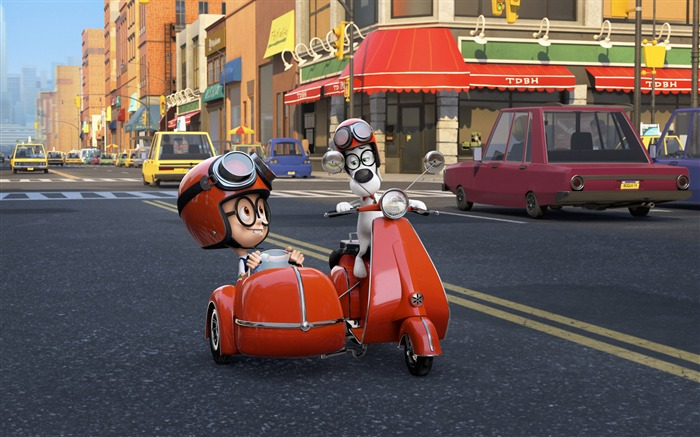 Mr Peabody And Sherman 2014 Movie HD Wallpaper 14 Views:3801