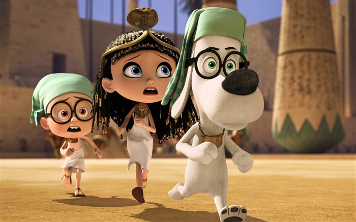 Mr Peabody And Sherman 2014 Movie HD Wallpaper 15 Views:3803