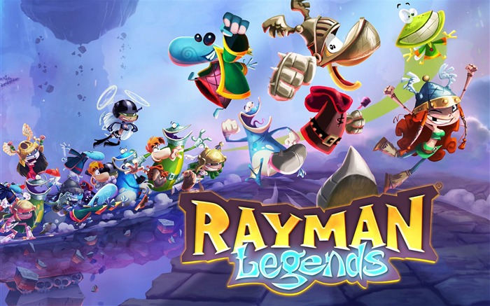 Rayman Legends Game HD Desktop Wallpaper Views:6916