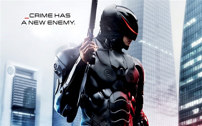 Robocop 2014 Movie HD desktop wallpaper Views:13016