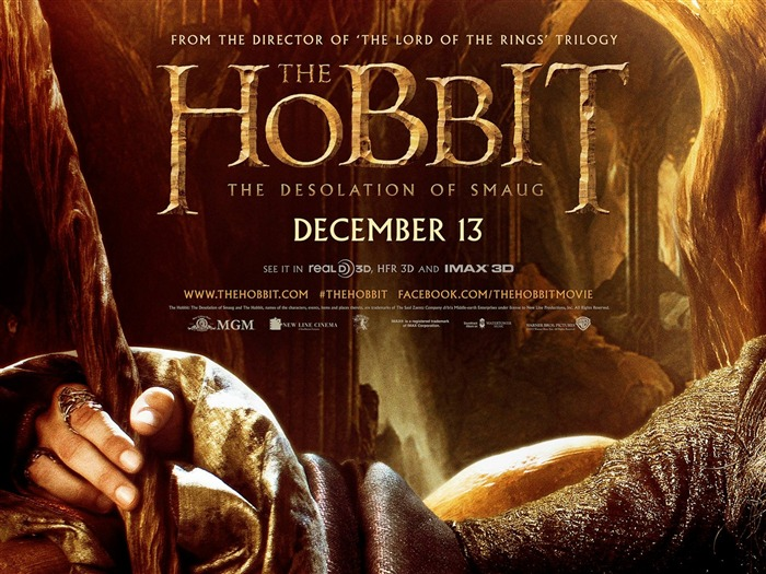 The Hobbit 2-The Desolation of Smaug Movie HD Wallpaper 01 Views:3349