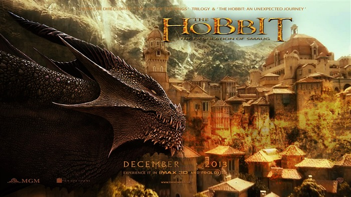 The Hobbit 2-The Desolation of Smaug Movie HD Wallpaper 02 Views:3375