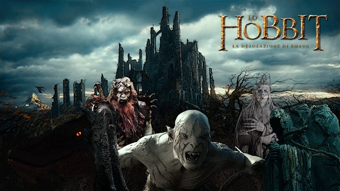 The Hobbit 2-The Desolation of Smaug Movie HD Wallpaper 03 Views:3242