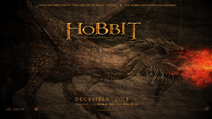 The Hobbit 2-The Desolation of Smaug Movie HD Wallpaper 04 Views:3684