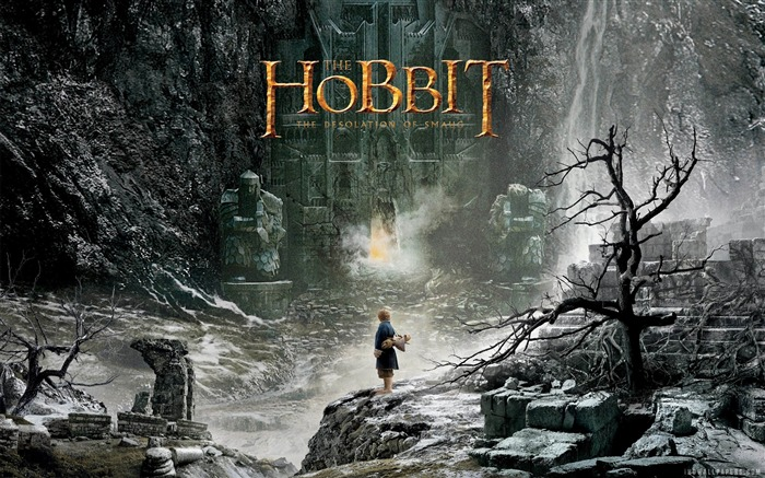The Hobbit 2-The Desolation of Smaug Movie HD Wallpaper 06 Views:3777