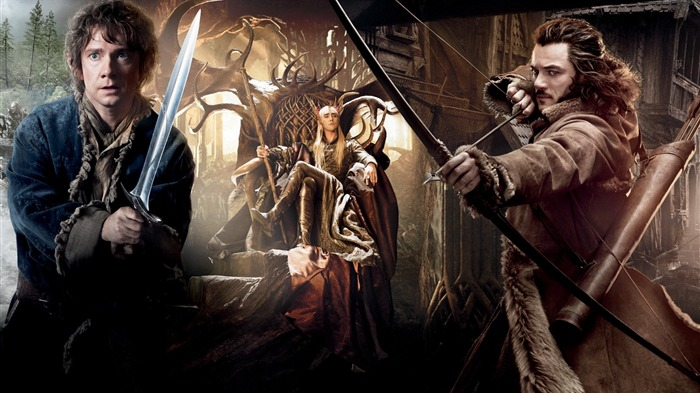 The Hobbit 2-The Desolation of Smaug Movie HD Wallpaper 18 Views:7256